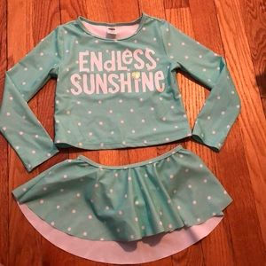 Old Navy Toddler Girl Rash guard